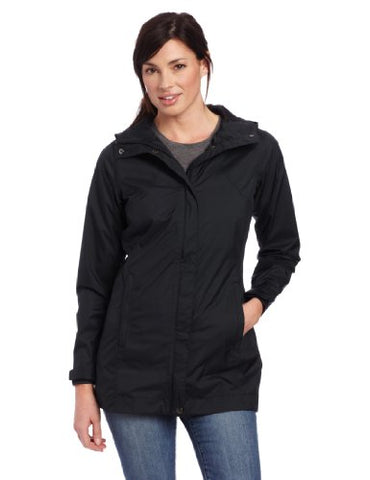 Columbia Women's Splash A Little Rain Jacket, Small, Black