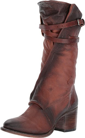 Freebird Women's Fb-Caden Combat Boot, Rust, 9 M US