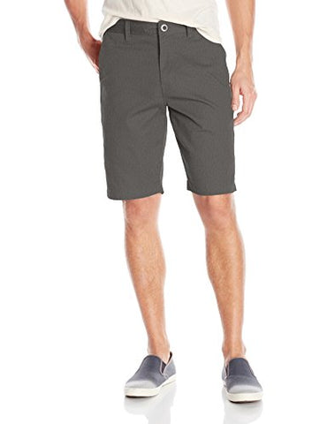 Volcom Men's Frickin Chino Short, Charcoal Heather, 32