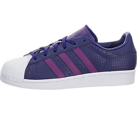 adidas Originals Superstar J, Cpurpl,Shopur,Ftwwht, 5 Medium US