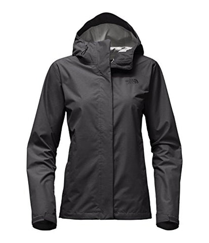The North Face Women's Venture 2 Jacket TNF Dark Grey Heather Small