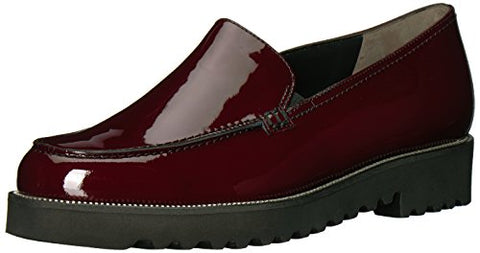 Paul Green Women's Jojo Loafer, Bordo Patent, 10 Medium US