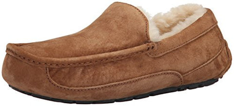 UGG Australia Men's Ascot Slippers, 12, Chestnut
