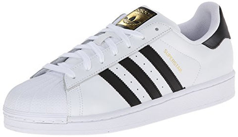 adidas Originals Men's Superstar Casual Sneaker, White/Core Black/White, 7 M US