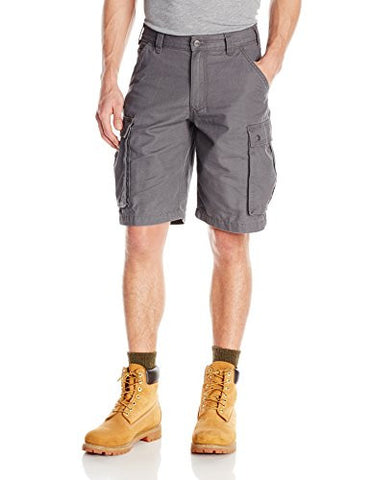Carhartt Men's Rugged Cargo Short Relaxed Fit,Gravel,36
