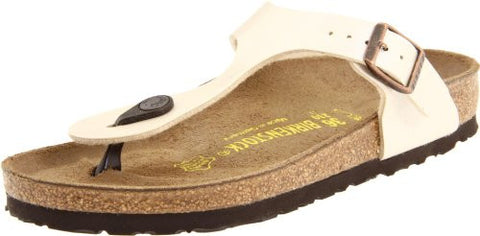 Birkenstock Women's Gizeh Thong Sandal,Graceful Antique Lace,40 M EU