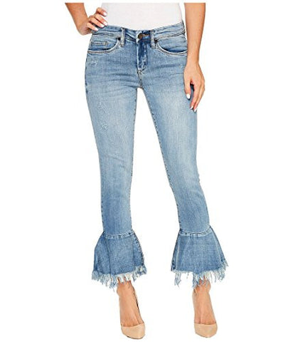 [blanknyc] Women's Ruffle Hem Skinny Jean, Fancy That, 26
