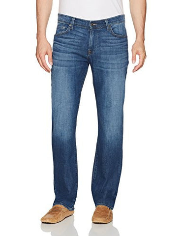 7 For All Mankind Men's Austyn Relaxed Straight Fit Jean, French Blues, 40