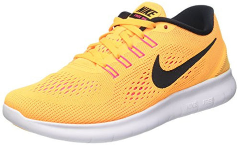 Nike Womens Free Run Womens Laser Yellow Running Shoes in Size 6.5 US (4 UK / 37.5 EU) Yellow