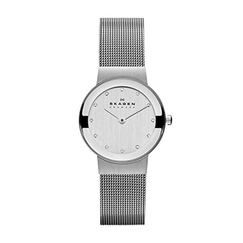 Skagen Women's 358SSSD Freja Stainless Steel Mesh Watch