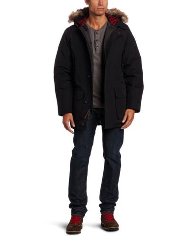 Woolrich Men's Arctic Parka, Black, Medium