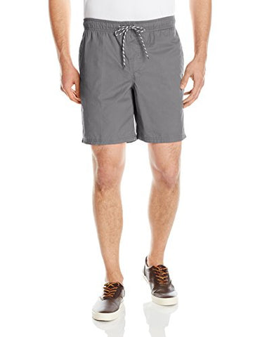 Amazon Essentials Men's Drawstring Walk Short, Grey, Large