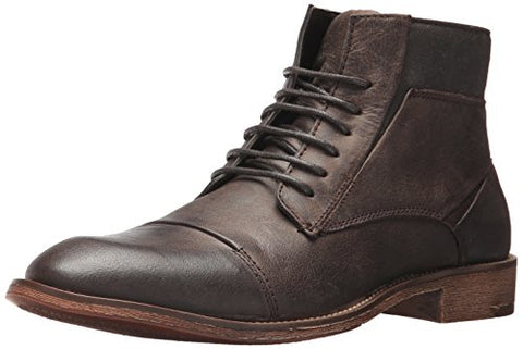 Steve Madden Men's Quibb Chukka Boot, Dark Brown, 11 UK/US Size Conversion M US