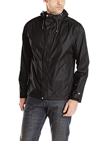 White Sierra Men's Trabagon Jacket, Black, Medium