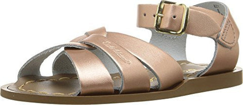Saltwater By Hoy Women's Original Flat Sandal, Rose Gold, 9 M US Big Kid / 11 B (M) US Women