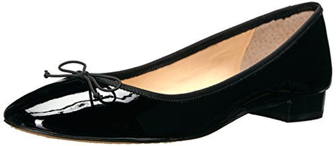Vince Camuto Women's Adema Ballet Flat, Black, 9 Medium US