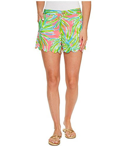 Lilly Pulitzer Women's Buttercup Short Royal Lime, Tiki Pink Royal Lime, 4