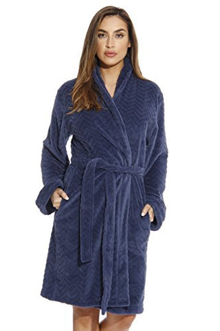 6312-Navy-S Just Love Kimono Robe / Bath Robes for Women