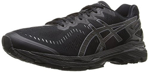 ASICS Men's Gel-Kayano 23 Running Shoe, Black/Onyx/Carbon, 12 M US