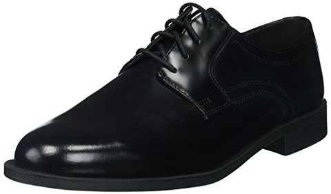 Cole Haan Men's Ross Dustin Plain Toe Oxford, Black Boxed Leather, 8.5 Medium US