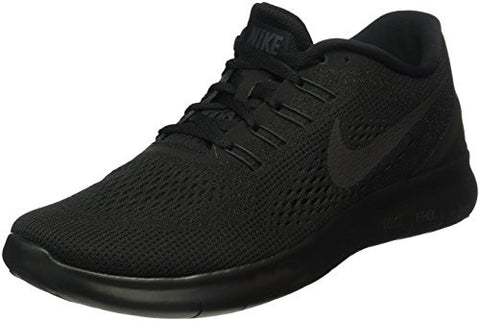 Nike Mens Free RN Running Shoes Black/Black/Anthracite 831508-002 Size 11.5
