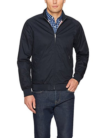 Ben Sherman Men's Updated Harrington Jacket, Dark Navy, Medium