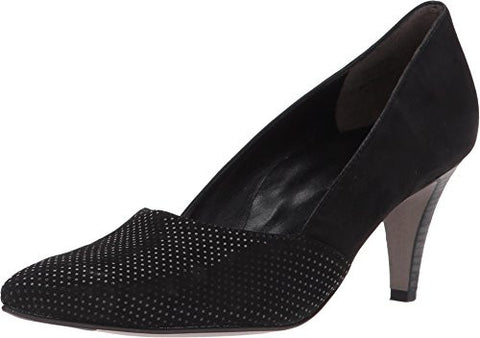 Paul Green Women's Paloma Pump, Black Dots Suede, 10.5 Medium US