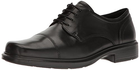 ECCO Men's Helsinki Cap Toe Oxford, Black, 39 EU/5-5.5 M US