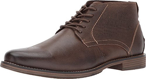 Steve Madden Men's Pieter Boot, Brown Leather, 8.5 M US