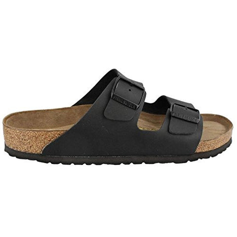 BIRKENSTOCK Women's BIRK-551251 Arizona Sandals, Black, 43