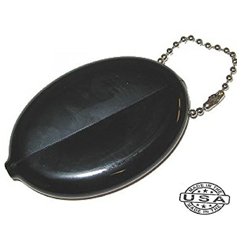 Oval Coin Purse Change Holder With Included Chain By Nabob Best Quality