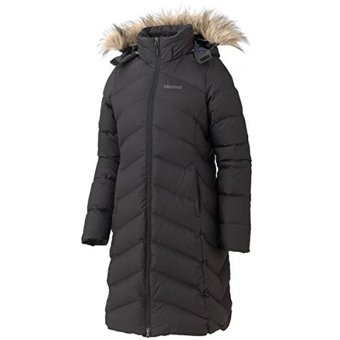 Marmot Womens  Montreaux Down Coat - X-small - Black