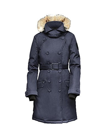 Nobis Women's Tula Peacoat CrossHatch Navy Medium