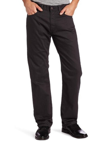 Levi's Men's 505 Regular Fit Twill Pant, Graphite, 34x32