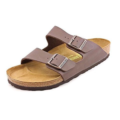 Birkenstock Arizona Women US 9 Brown Slides Sandal EU 40