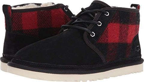 UGG  Men's Neumel Plaid Redwood 16 D US