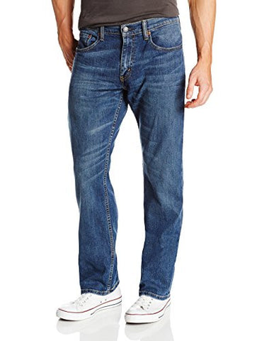 Levi's 559 Men's Relaxed Straight Stretch Jean - 32W x 32L - Steely Blue