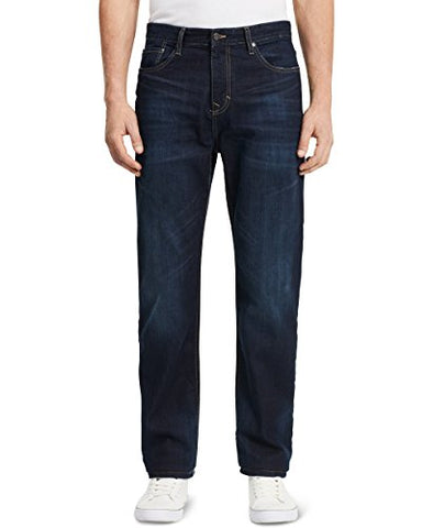 Calvin Klein Jeans Men's Relaxed Fit Denim Jean, Deep Water, 30 x 30
