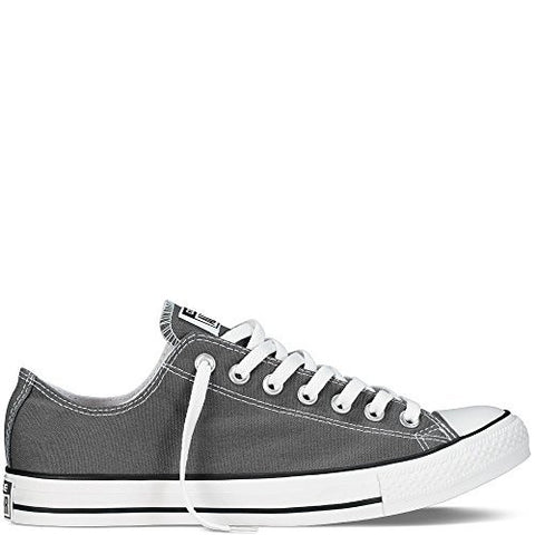 Converse Men's All Star Chuck Taylor Lo Top Oxfords Charcoal 9.5 D(M) US