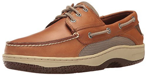 Sperry Top-Sider Men's Billfish 3-Eye Boat Shoe, Dark Tan, 12 M US