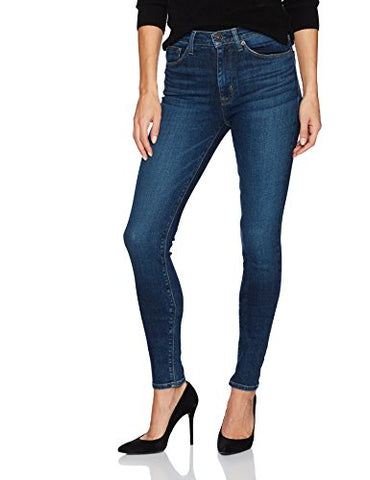 Hudson Jeans Women's Barbara High Waist Super Skinny 5 Pocket Jean, Realism, 29