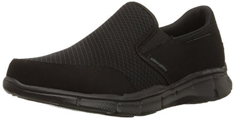 Skechers Sport Men's Equalizer Persistent Slip-On Sneaker,Black,12 M US