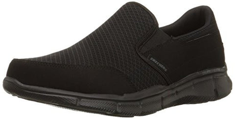 Skechers Sport Men's Equalizer Persistent Slip-On Sneaker,Black,10.5 M US