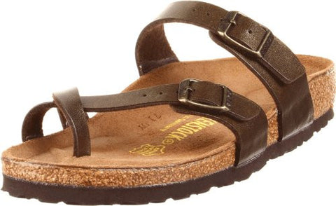 Birkenstock Mayari Sandal,Golden Brown,38 M EU