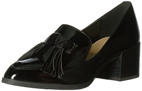 Marc Fisher Women's Phylicia Loafer, Black, 8 Medium US