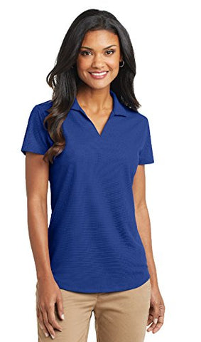 Port Authority Women's Dry Grid Polo, Medium, True Royal
