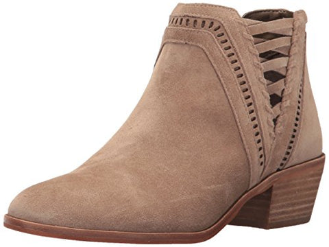 Vince Camuto Women's Pimmy Ankle Boot, Khaki, 6.5 Medium US