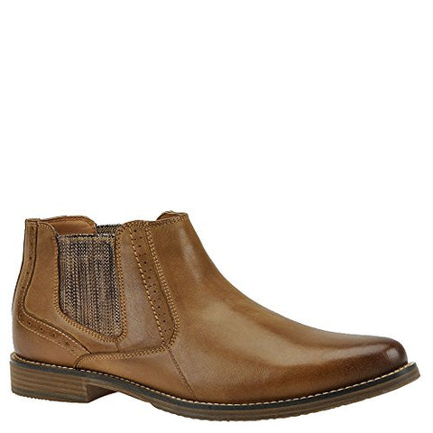 Steve Madden Men's Paxton Chukka Boot, Camel Leather, 13 US/US Size Conversion M US