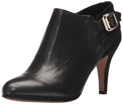 Vince Camuto Women's Vayda Ankle Boot, Black, 7.5 Medium US