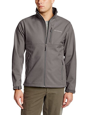 Columbia Men's Ascender Softshell Jacket, Boulder, Small
